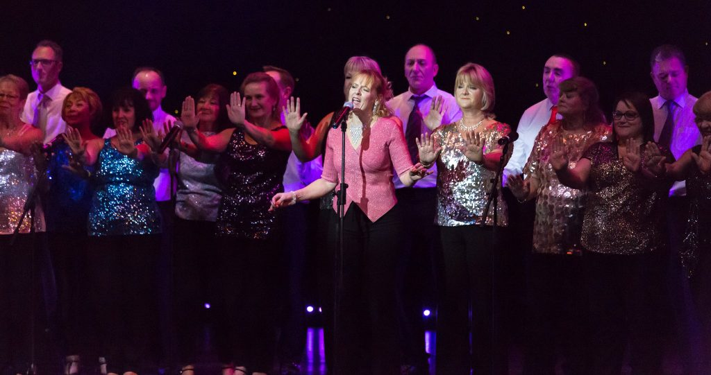 Wessex Musical Theatre group performance